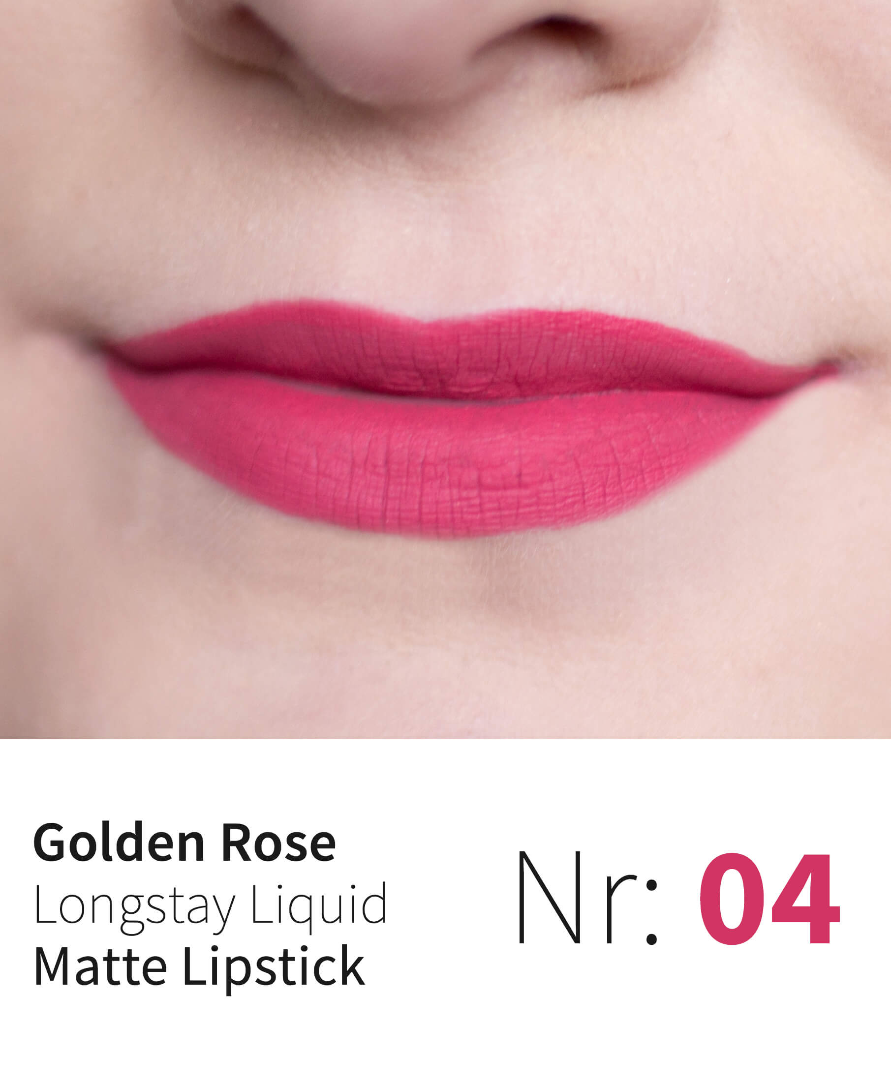 Golden Rose Longstay Liquid Matte Lipstick 04