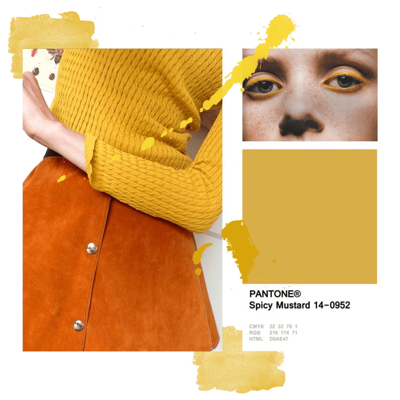 Musztardowo-żółte tony • #lookatmymakeup